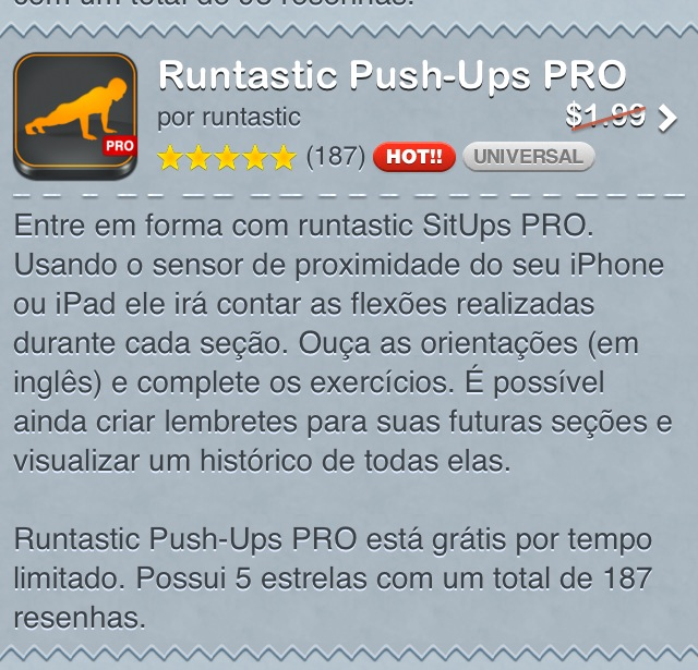 Fonte: AppsGoneFree