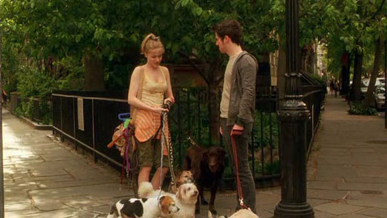 Cena de Whatever Works, de Woody Allen, na esquina da Stuyvesant com a 10th