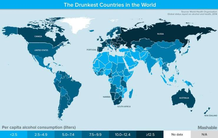 drunkestcountries