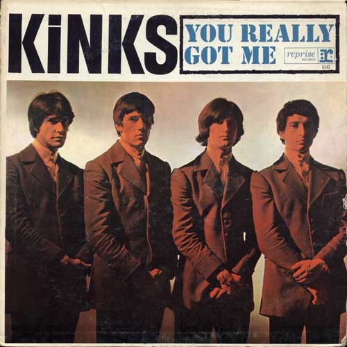 the kinks you really got me