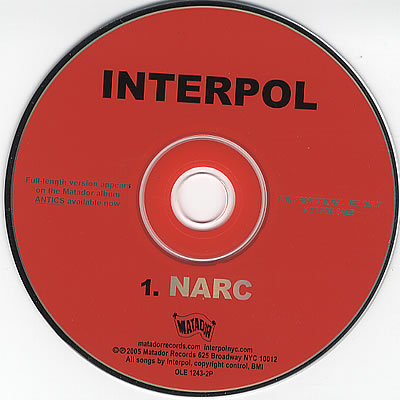Interpol - Narc