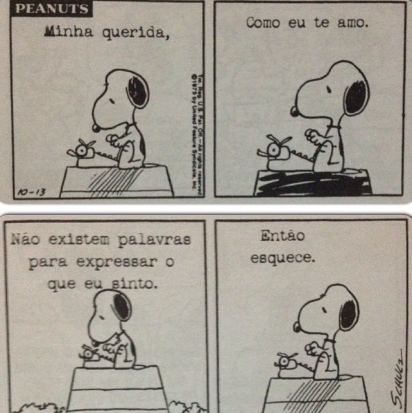 by Charles Schulz